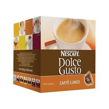 NESCAFE DOLCE GUSTO Caffe Lungo, 5219842, kávová kapsle, 16 kapslí