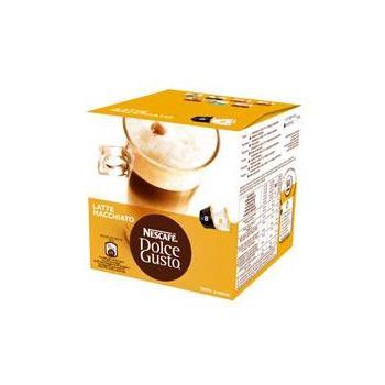 NESCAFE DOLCE GUSTO Latte Macchiato, 12074750, kávová kapsle, 2x8 kapslí