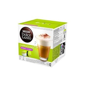 NESCAFE DOLCE GUSTO Cappuccino Skinny, , kávová kapsle, 16 kapslí, poslední 3 kusy