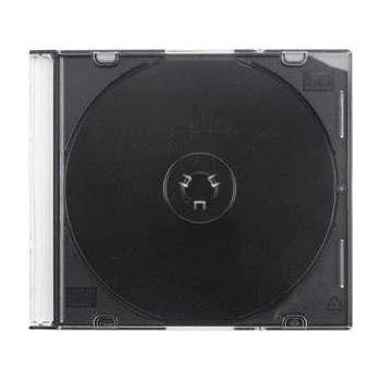OEM CD-R krabička, , SLIM, na 1 ks CD nebo DVD