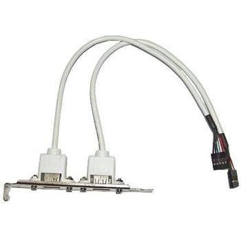 OEM USB bracket, , USB - 2 konektory ze základní desky