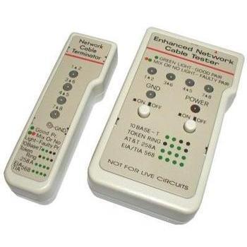 Testovací přístroj pro sítě UTP/STP - RJ45 (Cable Tester)