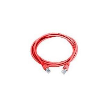 OEM patch kabel 1m, , červený, propojovací, UTP(cat5e), 1m, RJ45, ->RJ45
