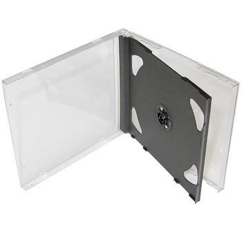 OEM CD-R krabička na 2 ks CD nebo DVD, 27002