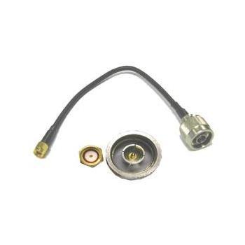 Redukce SMA reverzní-Female na N-Male - kabelová - 3m