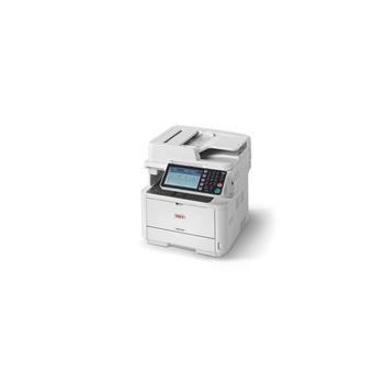OKI MB492dn, 45762112, multifunkce, laserová, tiskárna/ skener/ kopírka, 512MB, A4, ADF, duplex, 40 str./min.ČB, 1200x1200dpi, USB 2.0, LAN