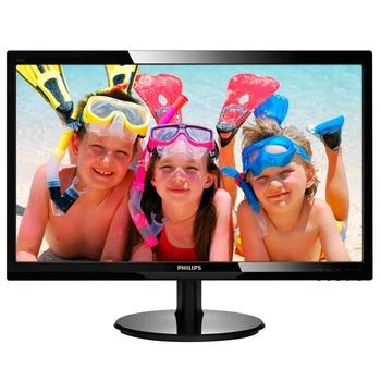 "PHILIPS 246V5LHAB, 246V5LHAB/00, černý (black), 24"" LCD monitor, 16:9, TFT LCD, 10.000.000:1, 5ms, 250cd/m2, 1920x1080, LED, D-SUB, HDMI, repro"