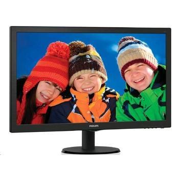 "PHILIPS 273V5LHAB, 273V5LHAB/00, 27"" LCD monitor, 16:9, TFT TN, 5ms, 300cd/m2, 1920x1080, LED, D-SUB, DVI, HDMI, repro"
