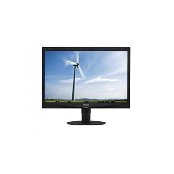 """PHILIPS 240S4QMB, 240S4QMB/00, 24"""" LCD monitor, 16:10, PLS LCD, 1000:1, 5ms, 250cd/m2, 1920x1200, D-SUB, DVI, repro"""