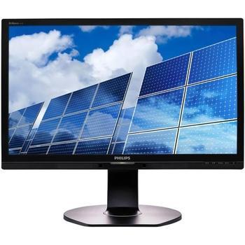 "PHILIPS 221B6QPYEB, 221B6QPYEB/00, černý (black), 21,5"" LED monitor, 16:9, IPS, 20.000.000:1, 5ms, 250cd/m2, 1920x1080, LED, D-SUB, DVI, DisplayPort, repro, USB HUB, Pivot"