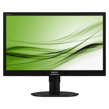 """PHILIPS 231B4QPYCB, 231B4QPYCB/00, černý (black), 23"""" LED monitor, 16:9, IPS, 1000:1, 5ms, 250cd/m2, 1920x1080, LED, D-SUB, DVI, DisplayPort, repro, USB HUB, Pivot"""