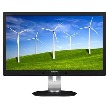 "PHILIPS 272B4QPJCB, 272B4QPJCB/00, černo-stříbrná(black/silver), 27"" LED monitor, 16:9, IPS, 1000:1, 4ms, 350cd/m2, 2560x1440, LED, D-SUB, DVI, HDMI, DisplayPort, repro, USB HUB, Pivot"