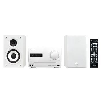 PIONEER X-CM52BT-W, X-CM52BT-W, bílý (white), mikrosystém, CD, MP3, FM rádio, USB