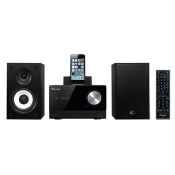 PIONEER X-CM42BT-K, X-CM42BT-K, černý (black), mikrosystém s dockem, CD, MP3, FM rádio, USB