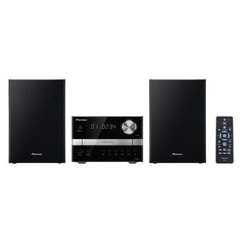 PIONEER X-EM12, X-EM12, černo-stříbrný(black/silver), mikrosystém, CD, FM rádio, USB