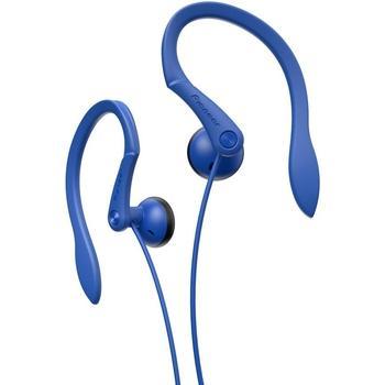PIONEER SE-E511-L, SE-E511-L, modrá (blue), sluchátka, jack 3,5mm, sportovní, špunty, 32 Ohm