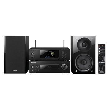 PIONEER Hi-Fi mini systém s DAB tunerem, P02DAB-K, černý (black), Hi-Fi systém, MP3, FM rádio, USB