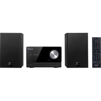 PIONEER X-CM35-K, X-CM35-K, černý (black), mikrosystém, CD, MP3, AM/FM rádio, USB