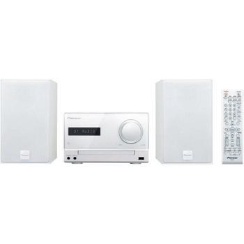 PIONEER X-CM35-W, X-CM35-W, bílý (white), mikrosystém, CD, MP3, AM/FM rádio, USB