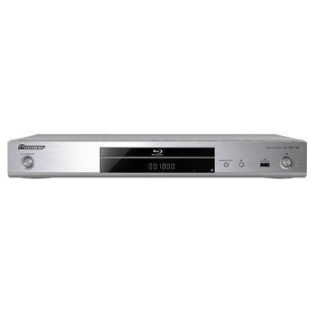 PIONEER BDP-180-S, BDP-180-S, stříbrný (silver), Blu-Ray přehrávač, 3D, DLNA, Wi-Fi
