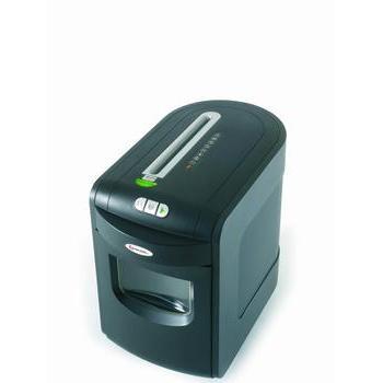 REXEL MERCURY RES1223, 5028252251587, skartovací stroj, proužkový řez, 12 listů, stupeň utajení: 1, zpětný chod, 23l koš