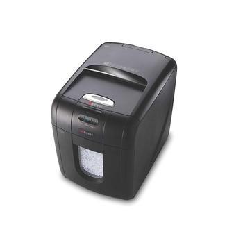 REXEL Auto+ 100M, 5028252387675, skartovací stroj, částicový řez, 6 listů, stupeň utajení: 3, 26l koš
