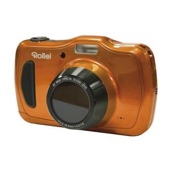 """ROLLEI Sportsline 100, 10054, oranžový (orange), digitální fotoaparát, 20 Mpx, optický zoom 4x, pro microSD, LiON, 2,7"""""""