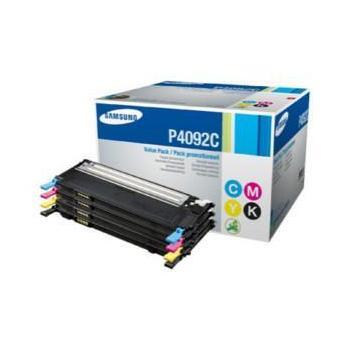 SAMSUNG CLT-P4092C, CLT-P4092C/ELS, CMYK, sada barevných tonerů pro CLP-310/315/CLX-3170/3175