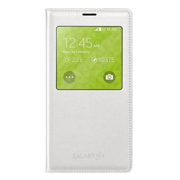 SAMSUNG EF-CG900B S-View, EF-CG900BWEGWW, bílá (white), flipové pouzdro pro Samsung Galaxy S5 (SM-G900)