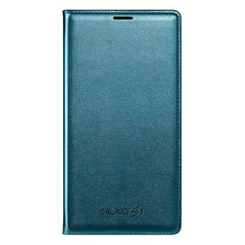 SAMSUNG EF-WG900BG, EF-WG900BGEGWW, modrá (blue), flipové pouzdro pro Samsung Galaxy S5 (SM-G900)