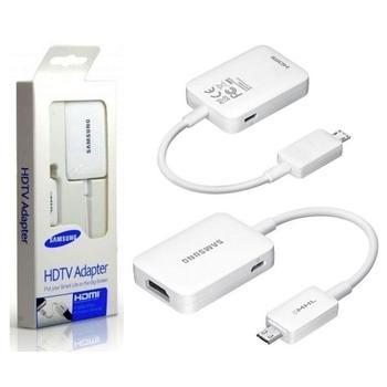 SAMSUNG adaptér MHL pro S4, ET-H10FAUWEGWW, redukce, MHL-microUSB (M), ->HDMI (F)