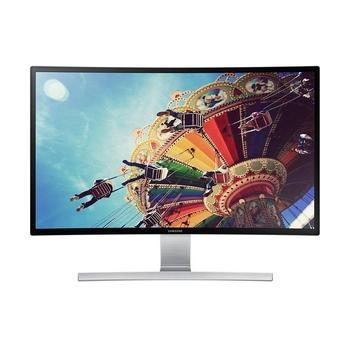 """SAMSUNG S27D590C, LS27D590CS/EN, 27"""" LED monitor, 16:9, VA LCD, 3000:1, 4ms, 350cd/m2, 1920x1080, LED, D-SUB, HDMI, DisplayPort, repro, zakřivený panel"""
