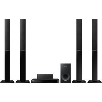 SAMSUNG HT J4550, , 3D Blu-Ray domácí kino, 3D, DLNA, 5.1ch zvuk, DivX, MKV, 500W, USB, LAN, HDMI
