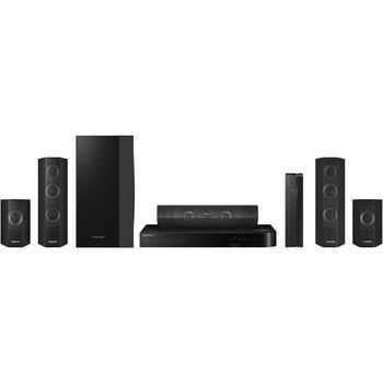 SAMSUNG HT J7500W, , 3D Blu-Ray domácí kino, 3D, DLNA, 5.1ch zvuk, DivX, MKV, 1000W, USB, LAN, HDMI, Wi-Fi