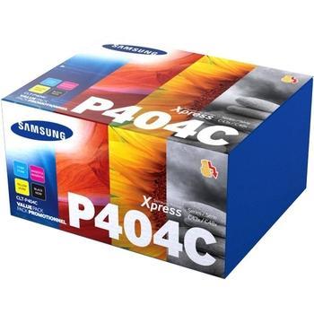 SAMSUNG CLT-P404C/ELS, CLT-P404C/ELS, CMYK, sada tonerů, 1500/1000 str.