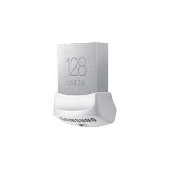 SAMSUNG Flash Disk FIT 128GB, MUF-128BB/EU, Kovový, přenosný flash disk, USB 3.0, čtení 130 MB/s