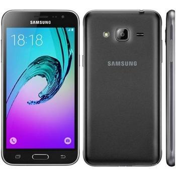 "SAMSUNG Galaxy J3 Duos (2016), SM-J320FZKDETL, černý (black), mobilní telefon, Quad-Core, 1,2 GHz, 1,5 GB, interní paměť 8GB, 5"", 1280x720, microSD, GPS, GPRS, 3G, LTE, Micro SIM, Foto 8Mpx, BT, Wi-Fi, Dual SIM, Andro"