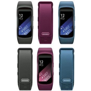 "SAMSUNG Gear Fit2, SM-R3600ZBAXEZ, modrý (blue), fitness náramek, Dual-Core, 512MB RAM, interní paměť 4GB, 1,52"", 216x432, GPS, BT"
