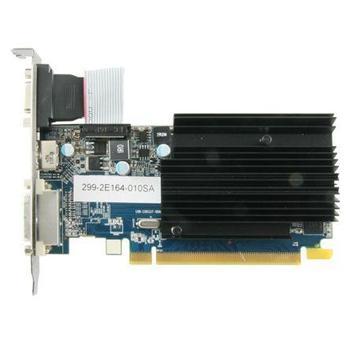 SAPPHIRE Radeon HD 6450, 11190-09-20G, grafická karta, AMD Radeon HD 6450, 2GB, DDR5, PCIe 2.0, 15pin D-sub, DVI, HDMI, pasivní chladič