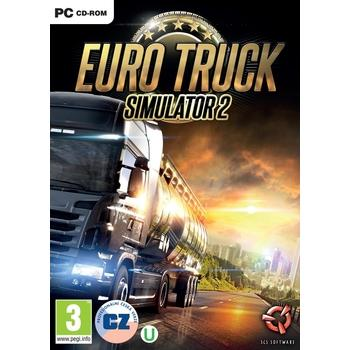 SCS SOFT EURO TRUCK Simulator 2 CZ, , hra pro PC, CZ, simulátor, DVD