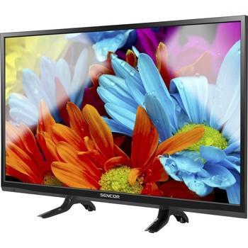 "SENCOR SLE 2459M4, , 24"" LED TV, úhlopříčka 60cm, 1366x768, DVB-T, DVB-C, CI-slot, HDMI, SCART, VGA, USB, B, 35W"