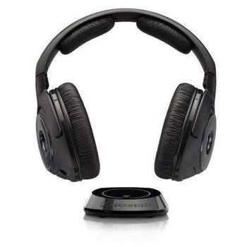 SENNHEISER RS 160, RS 160, černý (black), sluchátka, jack 3,5mm