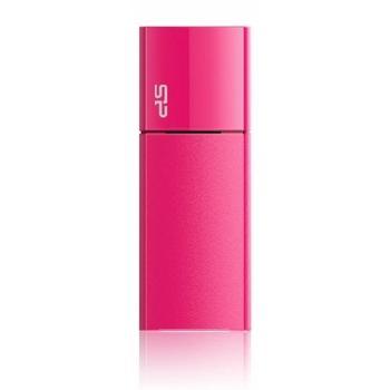 SILICON POWER Ultima U05 8GB, SP008GBUF2U05V1H, růžová (pink), přenosný flash disk, USB 2.0