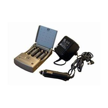 SOLID MW1270, DN30, nabíječka pro baterie 2x nebo 4x R03, R06, s autoadaptérem