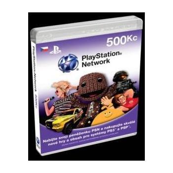 SONY PlayStation Live Cards 500Kč, PS719167853, herní konzole