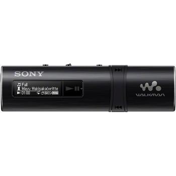 SONY NWZ-B183F, NWZB183FB.CEW, černý (black), přenosný MP3 přehrávač, 4GB, USB slot, displej, MP3, WMA, FM tuner, USB 2.0, výdrž až 20hod.