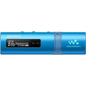 SONY NWZ-B183F, NWZB183FL.CEW, modré (blue), přenosný MP3 přehrávač, 4GB, USB slot, displej, MP3, WMA, FM tuner, USB 2.0, výdrž až 20hod.
