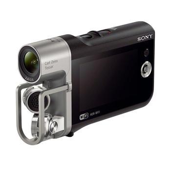 """SONY HDR-MV1, HDRMV1B.CEE, černo-stříbrná(black/silver), hudební kamera, 8Mpx, Memory Stick, HDMI, USB2.0, 1920x1080px, 2,7"""" displej, Wi-Fi"""