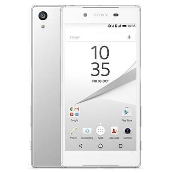 """SONY Xperia Z5 Dual (E6633), 1298-1000, bílý (white), mobilní telefon, Octa-Core, 2,0 GHz, 3 GB RAM, interní paměť 32GB, 5,2"""", 1920x1080, microSD, GPS, 3G, LTE, Foto 23Mpx, BT, Wi-Fi, Dual SIM, Android 5.1 Lol"""