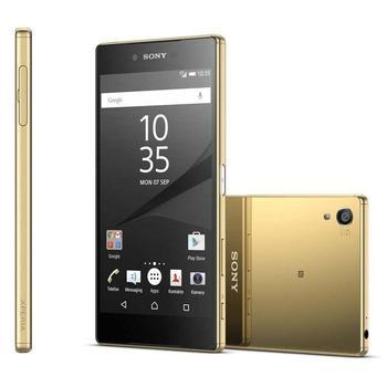 """SONY Xperia Z5 (E6653), 1298-0712, zlatý (gold), mobilní telefon, Octa-Core, 2,0 GHz, 3 GB RAM, interní paměť 32GB, 5,2"""", 1920x1080, microSD, GPS, 3G, LTE, Foto 23Mpx, BT, Wi-Fi, Android 5.1 Lollipop"""